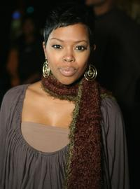 Malinda Williams at the Sony Urban Music's singing party.