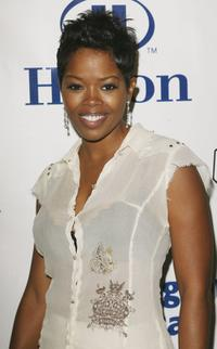 Malinda Williams at the Earvin