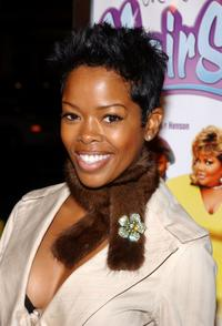 Malinda Williams at the premiere of