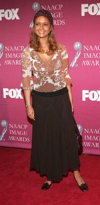 Tonya Lee Williams at the 36th Annual NAACP Image Awards Luncheon.