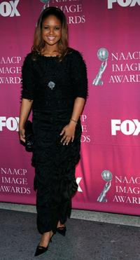 Tonya Lee Williams at the 36th NAACP Image Awards.