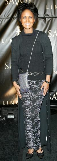 Tonya Lee Williams at the Lincoln-Savoy Pre-Oscar Gala For African American Achievement in Hollywood.