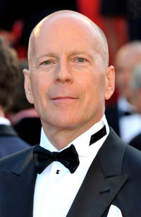 Bruce Willis at the France premiere of