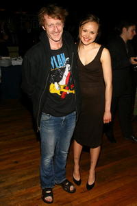 David Wilmot and Alison Pill at the Broadway Opening Of