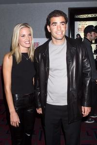 Bridgette Wilson and Pete Sampras at the world premiere of