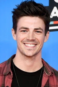 Grant Gustin at Nickelodeon's 2018 Kids' Choice Awards in Inglewood, California.