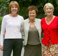 Penelope Wilton, Julie Walters and Helen Mirren at the promotion of