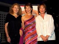 Geraldine James, Celia Imrie and Penelope Wilton at the premiere of