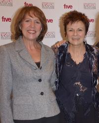 Penelope Wilton and Julie Walters at the Carlton Women In Film And TV Awards.