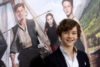 Levi Miller at the New York premiere of