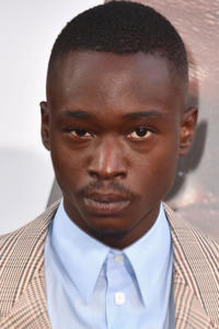 Ashton Sanders at the premiere of