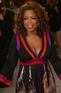 Oprah Winfrey arrives at the Vanity Fair Dinner and After Party at Mortons celebrating the 79th Academy Awards.