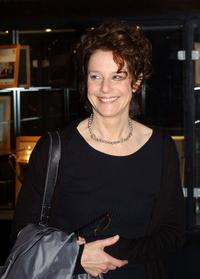 Debra Winger on The Late Late Show at Dublin, Ireland.