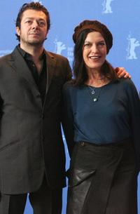 Director Thomas Arslan and Angela Winkler at the photocall of