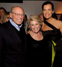 Producer Irwin Winkler, Margo Winkler and Roberta Armani at the New York premiere of