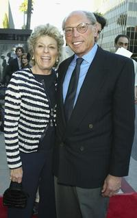 Margo Winkler and Irwin Winkler at the premiere of
