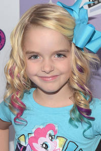 McKenna Grace at the L.A. premiere of My Little Pony Equestria Girls Rainbow Rocks.