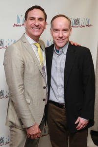 Mark Nadler and Michael Winther at the Off Broadway opening night of