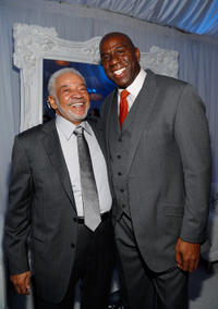 Bill Withers and Earvin 'Magic' Johnson at the Soul Train Awards 2012 in Las Vegas.