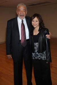 Bill Withers and Rosie Perez at the Our Time gala.