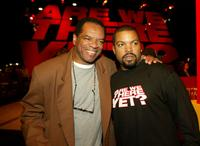 John Witherspoon and Ice Cube at the after party of the premiere of