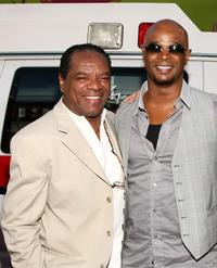 John Witherspoon and Damon Wayans at the premiere of
