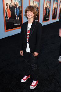 Steele Stebbins at the California premiere of