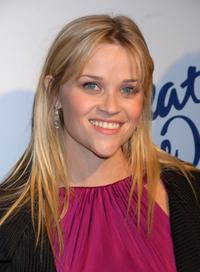 Reese Witherspoon at the Children's Defense Fund's 17th Annual