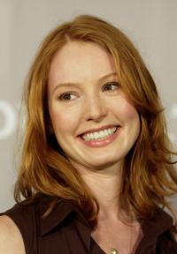 Alicia Witt at the Fall 2005 Proenza Schouler Fashion Show benefiting The Rape Foundation.