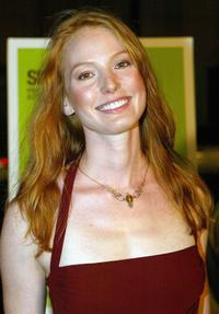 Alicia Witt at the premiere of