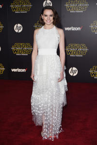 Daisy Ridley at the California premiere of
