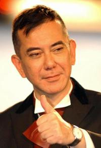 Anthony Wong at the 42nd Golden Horse Awards.