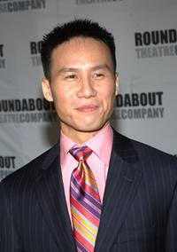 B.D. Wong at the after party of
