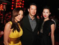 Michelle Yeoh, Russell Wong and Isabella Leong at the after party of the premiere of