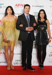 Russell Wong and Guests at the Star Road Red Carpet of 13th Pusan International Film Festival.