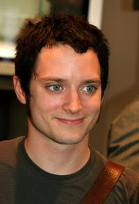 Elijah Wood at the Olympus Fashion Week Spring 2006.