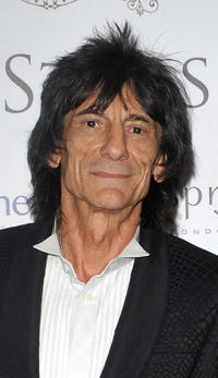 Ronnie Wood at the FitFlop Shooting Stars Benefit Closing Ball following a two-day golf tournament raising vital funds for Make-A-Wish Foundation UK.
