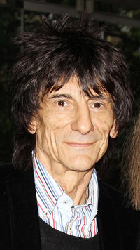 Ronnie Wood at the press night of Cleopatra: Northern Ballet in England.