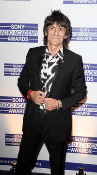 Ronnie Wood at the 2011 Sony Radio Academy Awards in England.