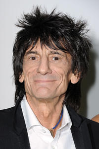 Ronnie Wood at the Givenchy Ready to Wear Autumn/Winter 2011/2012 show during the Paris Fashion Week.