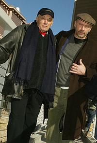 Tom Bower and Xander Berkeley at the 2004 Sundance Film Festival.