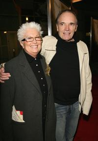 Ursula and Tom Bower at the premiere of