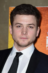 Taron Egerton at the 58th BFI London Film Festival in London.