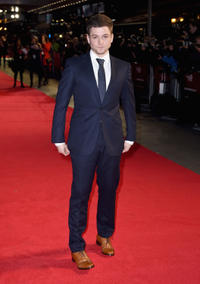 Taron Egerton at the World premiere of