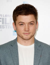 Taron Egerton at the photocall of