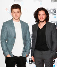 Taron Egerton, Kit Harington at the photocall of