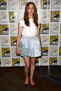 Sophie Cookson at the 20th Century Fox Press Line during the 2014 Comic-Con International.
