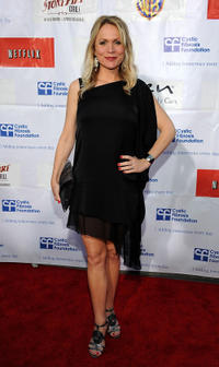Barbara Alyn Woods at the 2nd Annual Wisteria Lane Block party in California.