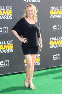 Barbara Alyn Woods at the 2nd Annual Cartoon Network Hall of Game Awards in California.