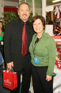 Tom Wopat and Guest at the 2006 TV Land Awards gifting lounge.